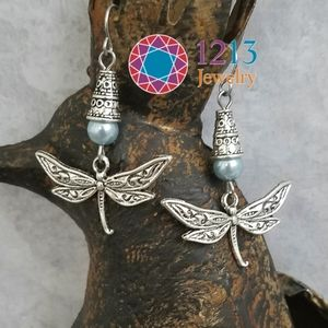 Artist Created Dragonfly Earrings MUSEUM Quality